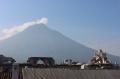 Zum Vulkan Agua.
