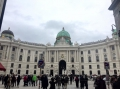 Die Wiener Hofburg .