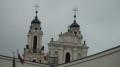Vilnius nennt man auch das Rom des Ostens.