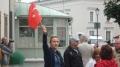Türkische Demonstranten.