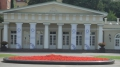 Im Innenhof des Präsidentenpalastes.