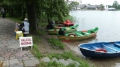 Auf dem Weg: Bootchen fahren ...