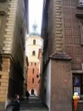 In der Altstadt eine Kirche an jeder Ecke.