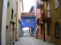 Hier geht es in die Neustadt - das ist das historische Handwerkerviertel.