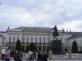 Der Präsidentenpalast.