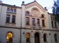 Die jüdische Synagoge.