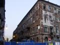 Die letzte Häuserzeile im jüdische Ghetto.