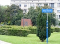 Der Willy Brandt Platz.
