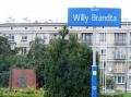 Oder Skwer Willy Brandta - wie das hier heisst.