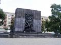 Gedenken an den Aufstand im Ghetto 1943.